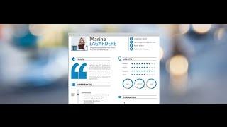 CV etudiant by Mycvfactory