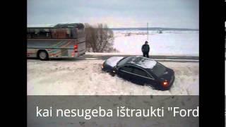 Vairuotojų pagalba kelyje Klaipėda. 2012-12-15