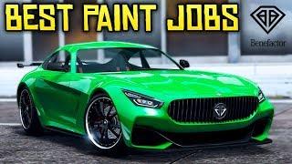 GTA Online - 7 AMAZING Paint Jobs for the NEW Benefactor Schlagen GT