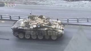 Реальные бои сирийских танкистов с террористами ИГИЛ. Tank battles Syrian army against terrorists.