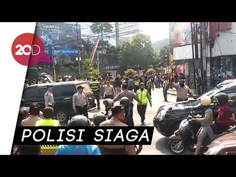 Demo Berujung Keributan di Malang, Sejumlah Jalan Ditutup