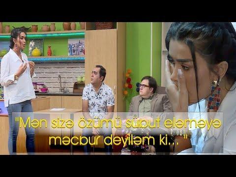 """""""Mən sizə özümü sübut eləməyə məcbur deyiləm ki... """" - Gənc aparıcı"""