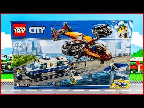 Vidéo LEGO City 60209 : La police et le vol de diamant