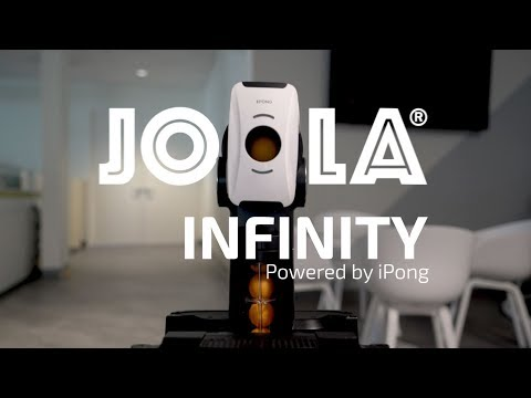 JOOLA Infinity: App-Controlled Table Tennis Robot-GadgetAny