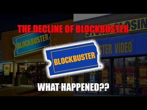 The Decline of Blockbuster...What Happened?