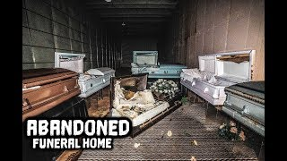 What Happened Here Is Disturbing - Abandoned Funeral Home