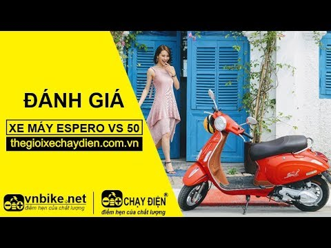 Đánh giá xe máy Espero VS 50