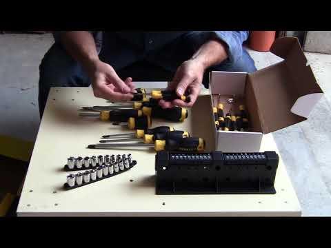 Unboxing kit cacciaviti Stanley