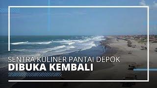 Sentra Kuliner Seafood Pantai Depok Yogyakarta Bakal Beroperasi Kembali