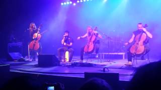 Apocalyptica Live in Tempe, AZ — Hole in My Soul