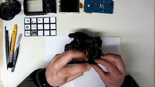 Lens repair on Sony DSC-H300. Zoom mechanism