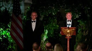 Trump celebrates a century of 'loyal and devoted friendship' with Australia