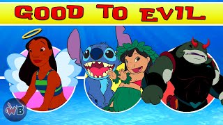 Lilo And Stitch Characters: Good To Evil 🏄🏽‍♀️