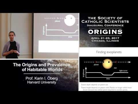 Karin Öberg – The Origins and Prevalence of Habitable Worlds