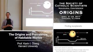 """The Origin and Prevalence of Habitable Worlds"".   Prof. Karin Öberg  (Harvard University)"