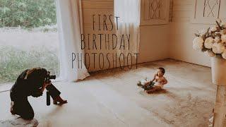 FIRST BIRTHDAY PHOTOSHOOT | Madeline Dominguez