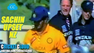 Why SACHIN UPSET NZ BOWLERS - Lets Find Out !! RARE VIDEO !!