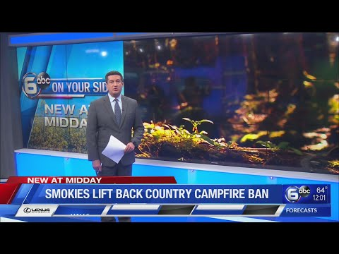 Officials remove backcountry campfire ban in Smokies