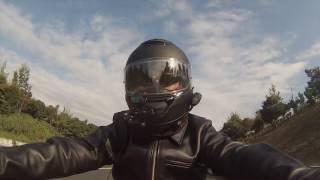 ゆかいなバイク仲間がアクアラインで合流!~千葉観光に行くよっ!の巻~