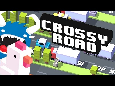 Crossy Road – Mobile Game Review – Endless Frogger on iOS