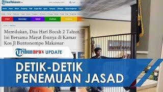 Video Detik-detik Bocah 2 Tahun Ditemukan Peluk Jasad Ibunya di Kamar Mandi, Tangisan Jadi Kunci
