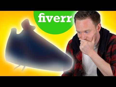I PAID People on FIVERR to Design a SNEAKER