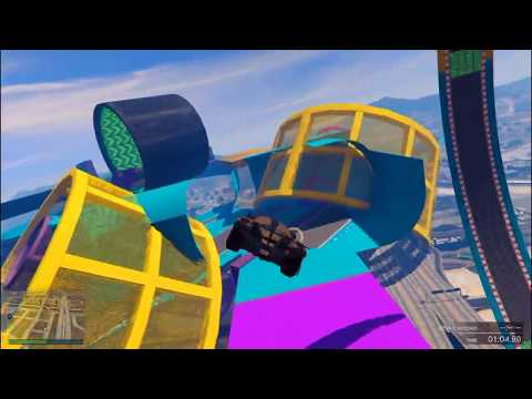 GTA 5 CUSTOM STUNT RACE — Loopsie Daisy