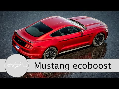 2016 Ford Mustang 2.3 EcoBoost: Exhaust Sound / Acceleration 0 - 100 kph / 0 - 62 mph