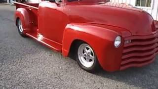 1948 CHEVY SHORT BED TRUCK, TUBBED, 454, FOR SALE AT 500 CLASSIC AUTO SALES