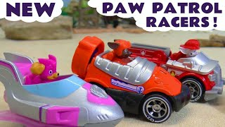 Paw Patrol Mighty Pups Racing with Cars 3 Lightning McQueen in this Full Episode in English