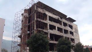 Edificios bombardeados de Móstar