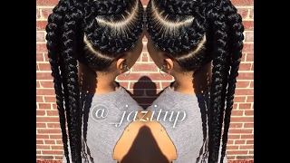 African Braiding Hairstyles: Beautiful Collection Of Braiding Style