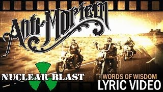 ANTI-MORTEM - Words of Wisdom (OFFICIAL LYRIC VIDEO)