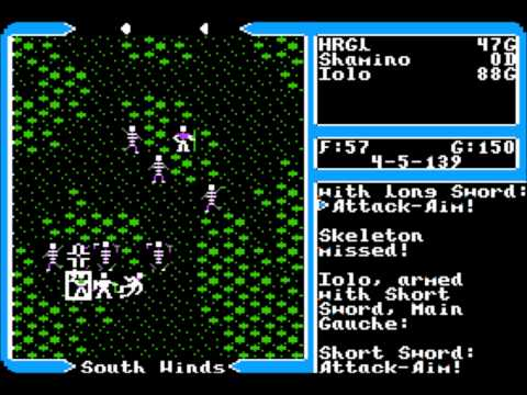 Ultima : Warriors of Destiny NES