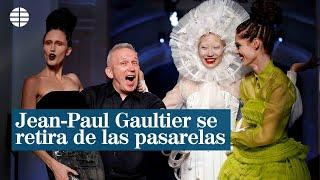 Jean-Paul Gaultier deja las pasarelas