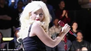 Christina Aguilera (Coaches Perfomance)   Crazy