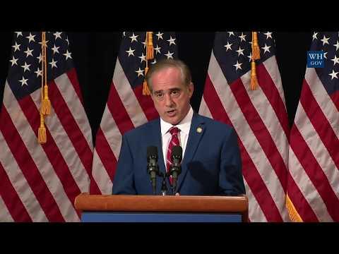 Briefing by Secretary David Shulkin on H.R. 3218