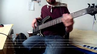 The Killers - Mr Brightside (Bass Cover With Tabs)
