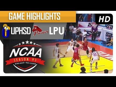 UPHSD vs. LPU | NCAA 93 | MB Game Highlights | August 4, 2017