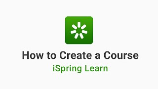 How to Create a Course