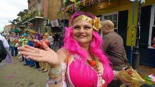 Mardi Gras Balcony On Bourbon