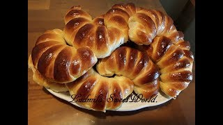 Чудесные булочки с вареной сгущенкой
