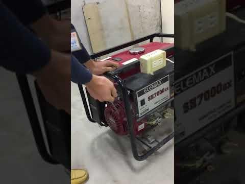 臺北市文山區公所發電機教學影片