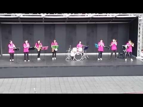 京都光華女子大学吹奏楽部 第34回 吹奏楽の日 京都駅ビル