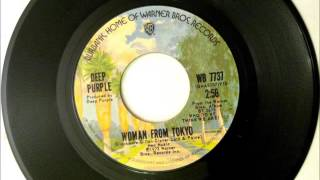 Woman from Tokyo , Deep Purple , 1973 Vinyl 45RPM