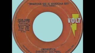 Dramatics - Whatcha See Is Whatcha Get, 1971 Volt Records 45 Mono Mix.