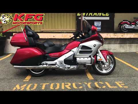 2012 Honda Gold Wing® Audio Comfort Navi XM in Auburn, Washington - Video 1