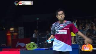 [HD] Final - MS - Simon SANTOSO Vs LEE Chong Wei - 2014 OUE Singapore Open