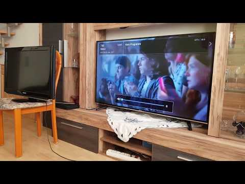Hisense H55MEC3050 138 cm 55 Zoll Fernseher Ultra HD, Triple Tuner, Smart TV) unboxing Review