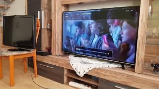 Hisense H55MEC3050 138 cm 55 Zoll Fernseher Ultra HD, Triple Tuner, Smart TV) unboxing Review